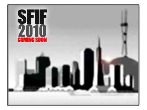 SFIF 2010 - COMING SOON